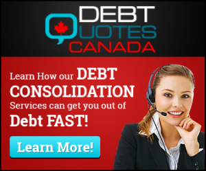 debt consolidation Deseronto ON